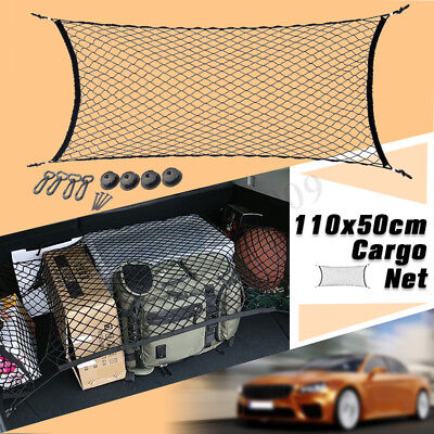 Universal Car Trunk Rear Cargo Organizer Storage Elastic String Mesh Net Holder