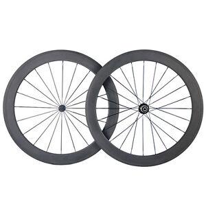 700C Schnelle Lieferung 50mm Drahtreifen Carbon Laufräder Fahrrad Laufradsatz