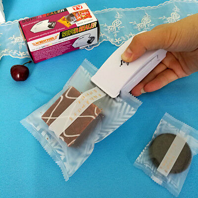 Portable Mini Plastic Bag Sealing Machine Heat Super Sealer Closer Heating Tools