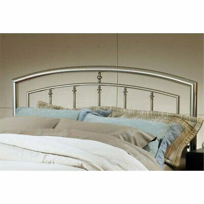 Bowery Hill King Spindle Headboard in Matte Nickel