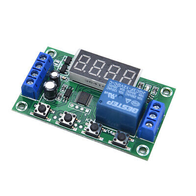 Dc 12v 5a Yyc-2s Adjustable Led Delay Relay Module Timer Control Switch Boardk0
