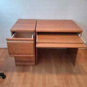 Palliser Desk and File Drawer