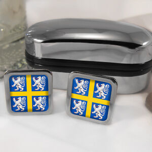 Durham-Coat-of-Arms-Cufflinks-Box