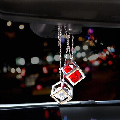 2018 Magic Cube Car Rearview Mirror Pendant Hanging Charm Auto Ornament Decor - Mirror Ornaments