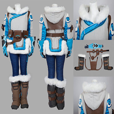 Hot Games Characters Original Mei Cosplay Costume Full Suit Cos Accessories