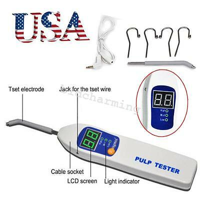 Usa Warehouse Dental Pulp Tester Oral Testing Teeth Nerve Vitality Endodontic Ce