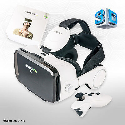 VR 3D Virtual Reality Bobo VR Brille Box Headset mit Bluetooth Game Controller