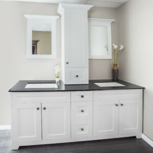 NOWRUZ $ALE!Solid wood maple & HDF vanities are on promotion!