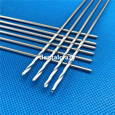 115mm Stainless Steel Drill Bits Orthopedics Instrument 10pcsset Brand New Tool