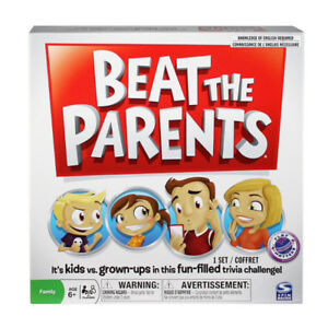 Beat the Parents board game.