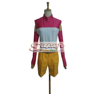Digimon Adventure Hikari Yagami Kari Kamiya Uniform Cloth Cosplay Costume NEW