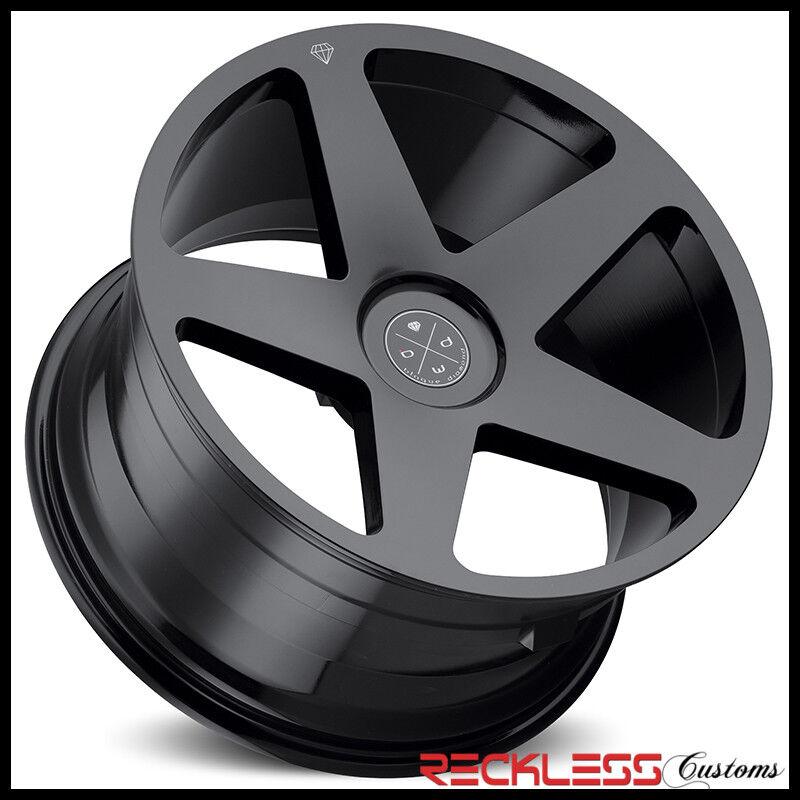 "Blaque Diamond 22"" Bd15 Gloss Black Concave Wheel Rim Fit Bentley Continental Gt"