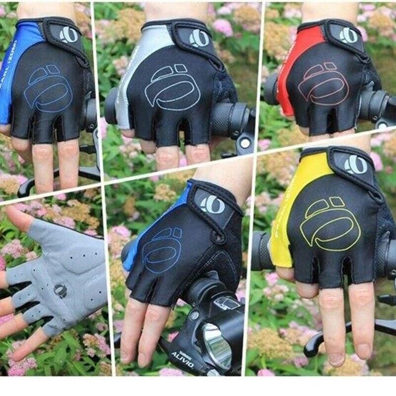 Cycling Gloves Bike /wheelchair /Bicycle  Shockproof Men Padded Fingerless Sport