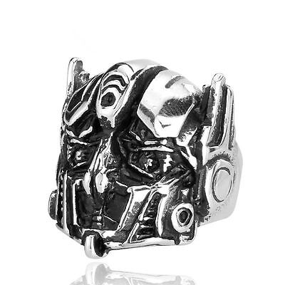 Optimus Prime Ring (【Ship From US】Size 11 Transformers Optimus Prime 316L Stainless Steel)