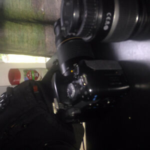 Barely Used Canon Rebel XSI with Extra Lens, Bag, and Accesories