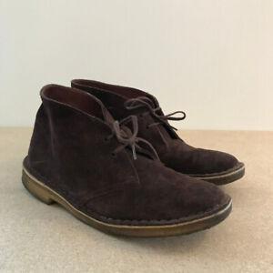 Bottes brunes en suède - Desert Boot | Clarks Originals US10