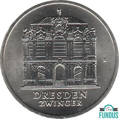 DDR 5 Mark Dresdner Zwinger 1985 J.Nr. 1602 st (403)