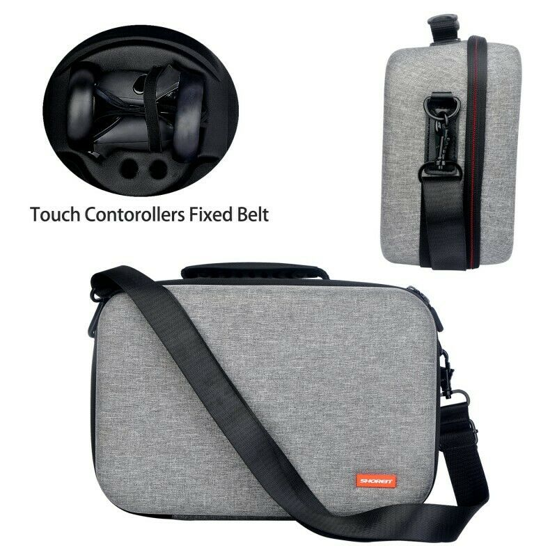 Travel Carrying Protective Case Bag for Oculus Quest 2 VR Gaming Headset Storage