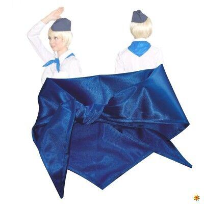 Halstuch blau Kostüm Zubehör Pionier DDR Mottoparty Fasching - Blau Motto Kostüm