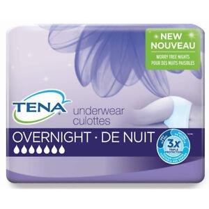 Tena overnight underwear size M