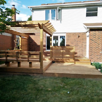 Decks, fencing, pergolas and more