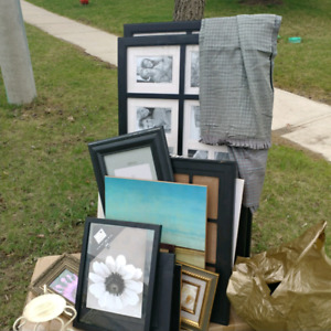 Free frames, pictures, clothes, candleholder etc.