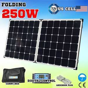 250w Folding solar Panel caravan battery charger 12v generator Wangara Wanneroo Area Preview