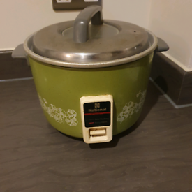 Used rice cooker.