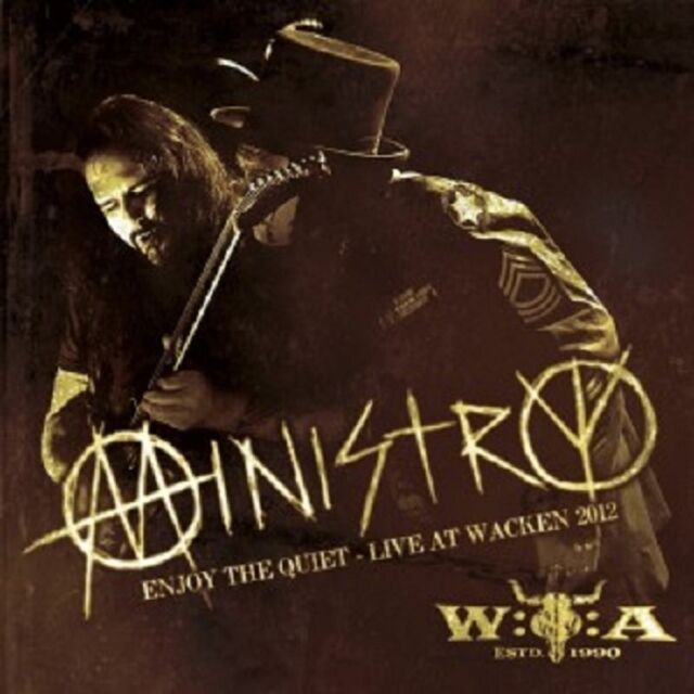 MINISTRY - ENJOY THE QUIET-LIVE AT WACKEN 2012  (CD)  INDUSTRIAL METAL  NEU