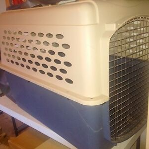 dog crate med-large size