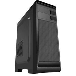 CIT Hero Black Midi ATX Gaming PC Computer Case ATX Meshed Panel USB 3.0