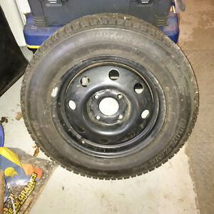 "14"" Steel Wheel & Tire for 1991 Honda Accord - NEW"