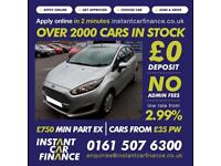 Ford Fiesta Style Econetic Tdci Hatchback 1.6 Manual Diesel GOOD / BAD CREDIT
