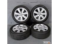 "17"" Audi A4 7 Spoke SE Alloy Wheels will fit Audi A4, VW Jetta, Caddy Van, Seat Exeo"