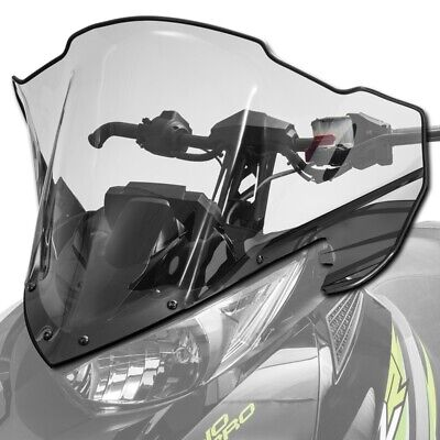 Arctic Cat Mid Windshield Clear Tinted with Black 2014-2020 ZR XF M PTA 7639-688