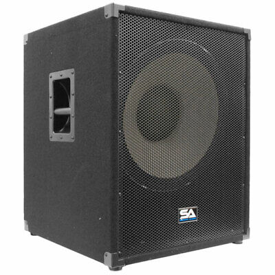 """Seismic Audio - Enforcer II PW - Powered PA 18"""" Subwoofer Sp"""