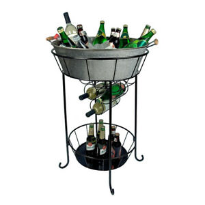 New in Box Artland Oasis Party Station, Galvanized, Metal