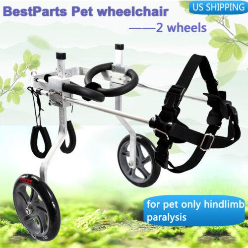 BestParts cart Pet/Dog Wheelchair for Handicapped Hind Legs Dog/Pet 0-110lb