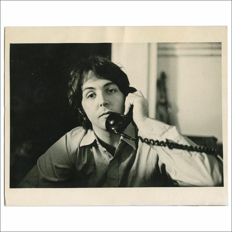 Paul McCartney 1968 Cavendish House Linda McCartney Vintage Photograph (UK)