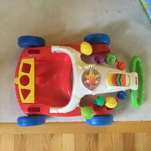 Fisher Price Convertible Walker to Wagon Toy CLEAN! EUC Strathcona County Edmonton Area image 3