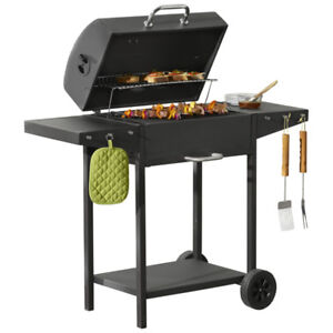 """24"""" Cart Charcoal Grill, New"""