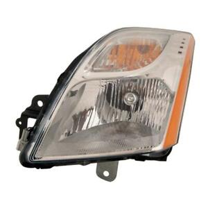 2010-2012 Nissan Sentra Driver Side Head Light Assembly - CAPA Certified ®