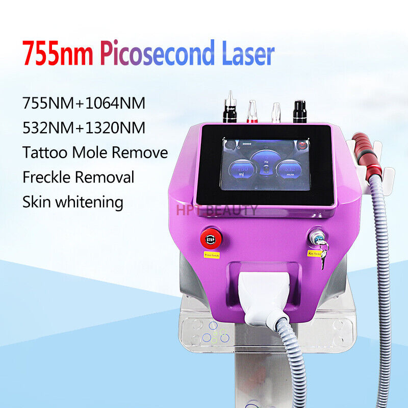 Portable Picosure Laser For All Pigment Removal And Tattoo Removal Beauty Device