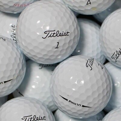 150 Golfbälle Titleist Pro V1 Modell 2018 AA Lakeballs ProV1 V 1 ProV 1 Bälle ()