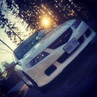 05 white A-spec TSX. OEM Honda bone stock