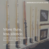 Flute Lessons at Barn Music Studio