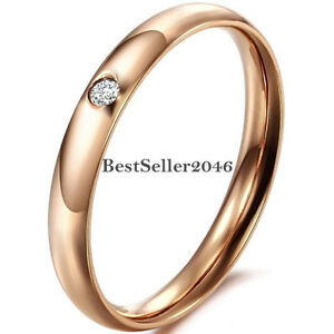rose gold promise ring size 5-9 only
