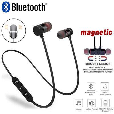 Bluetooth Sport Kopfhörer In Ear Headsets Earbuds für HUAWEI Samsung iPhone (Bluetooth-kopfhörer Für Iphone)