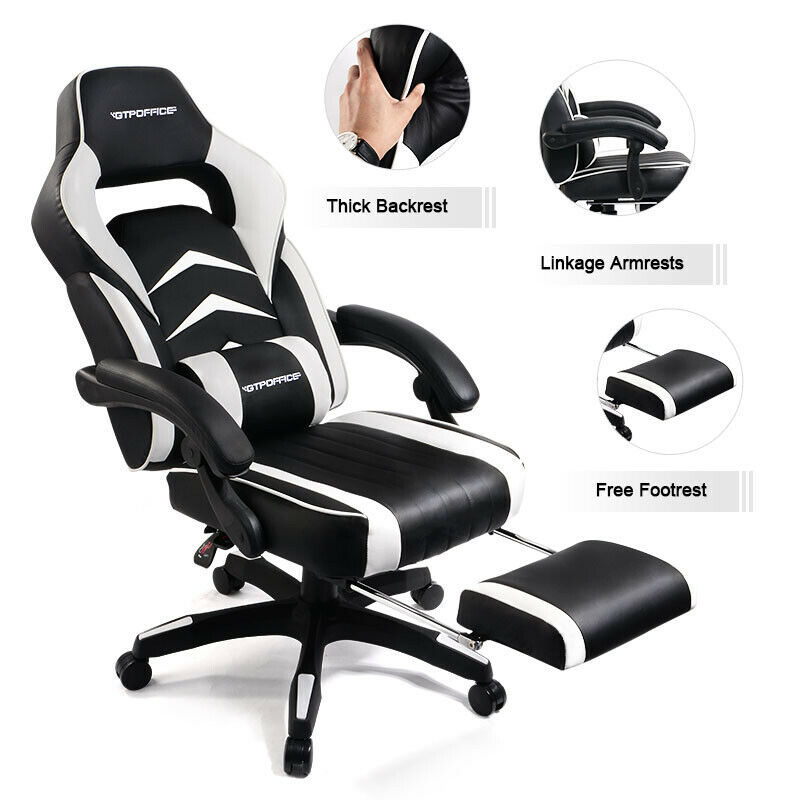 Office Gaming Chair Racing Style Computer Recliner Executive