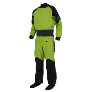NRS Drysuit, WRSI Helmet, Knife and Duffel Bag